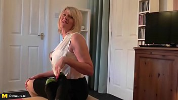 brit crimson-hot housewife penetrating and blowing