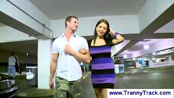 she-masculine suprises hetero dude with manmeat