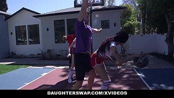 daughterswap - kinky teenagers share daddy.
