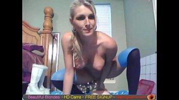 Blonde Cam Babe Dildo Ride free live webcam sex live cam sex  Gapingcams.com