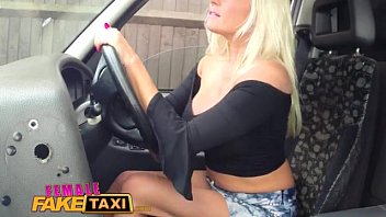 FemaleFakeTaxi blonde milf loves a big black cock