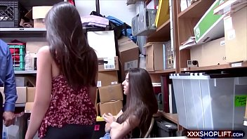 two teenage shoplifter got caught and gets banged hardupload