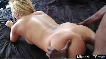 Horny Milf (tara star) In Mixt Sex Tape On Big Black Hard Cock video-28