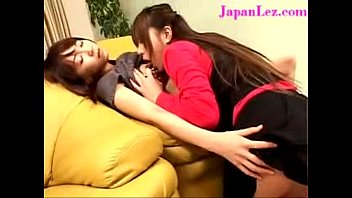 Japanese Asian Young Girl Witnesses Lesbians