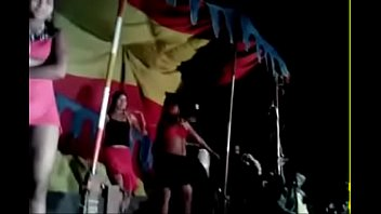 glamour dancers during village jaatra one female shamelessly.