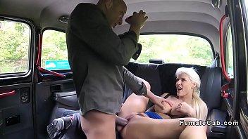 blondie cab driver gets ample pecker