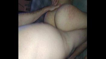 phat ass milky girl doggystyle meaty rump bounce.