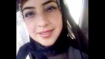 desi paki muslim hijab displays her large chesty.