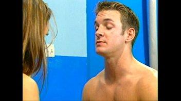 lifeguards having intercourse in the locker.