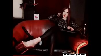 mistress smocking fetish bdsm feet heels Watch free at www.goddessbagira.com