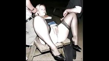 hottest mummy cougar dogging high-heeled footwear stocking.