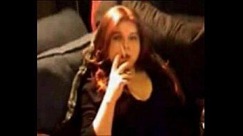 smoking transgirl t-woman michelle love pleasing herself smoking.