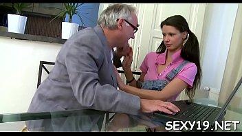 honey gives aged schoolteacher bj till she gets cum-shot