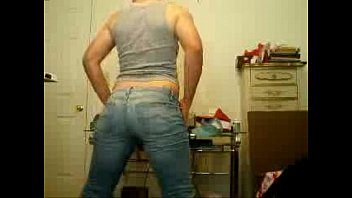 magnificent very first-timer backside dirty dancing in jeans.