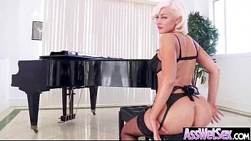 Hard Anal Bang With Big Round Wet Oiled Butt Girl (jenna ivory) vid-14