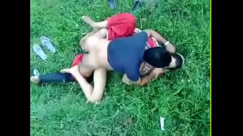 desi gal fuck-fest in the park
