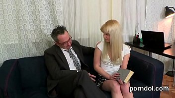 passionate student gets tempted and fucked by her.