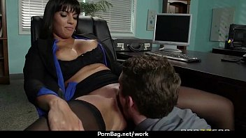 Busty working women getting boned from behind 7