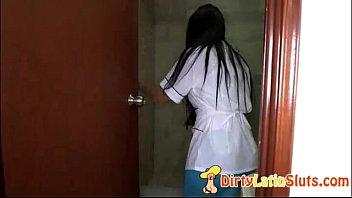 latinasex with admirable brazilian maid