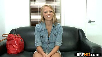 Petite blonde babe wants a job and turns to porn.2