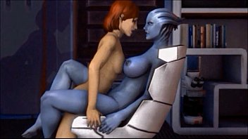 mass effect meets blue is the.