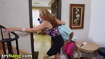 julia ann039_s perv step son-in-law fancies the maid.