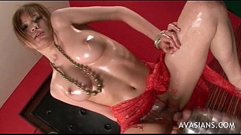 solo chinese nubile handballing and  toying with.