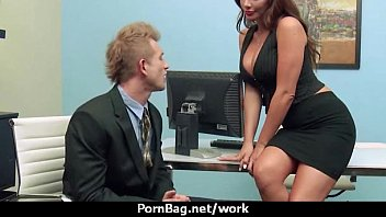 mind-blowing crazy cougar likes raunchy bang-out at work 7