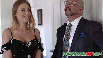 Big Tit Blonde Seduces Her Nephew
