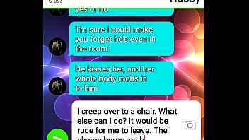 cheating hubby roleplays his wifey manhandled by fat.