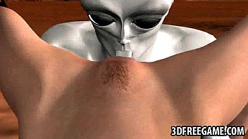 good-sized-boobed 3 dimensional stunner gets slurped and boinked.
