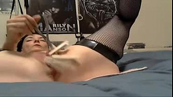 bdsm women uses clamps to get off-see more at myqtcams.com