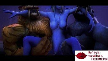 gameplay - warcraft orcs clan penalize elf w boobsfreehgamecom