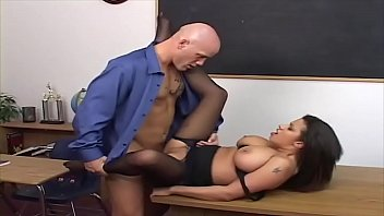 he poke his instructor - and watch her.