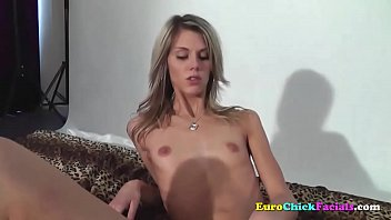 Skinny Blonde Fingering Her Pussy