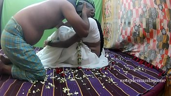 milky saree honeymoon part 1