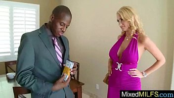 Hungry For Monster Black Cock Wild Milf Enjoy It On Cam clip-11