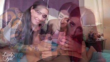 pervert sisters use my lollipop -tana lea amp_ taurus