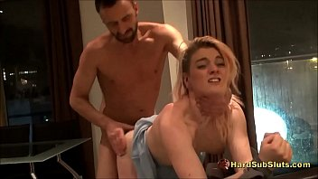 Brit Sub Teen Livened Up Ready For Rough Fuck