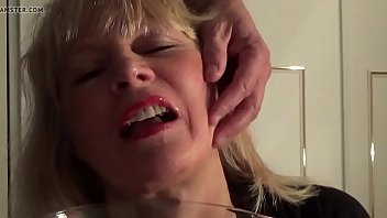 mature silver-blonde luvs pee and spunk