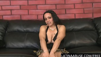 latina manhandled supah-bitch nena interviewed