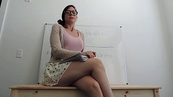 english schoolteacher feelin039_ wild in class.