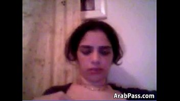 nasty arab chick kneading one out of her vag