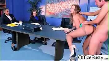 Naughty Girl (Juelz Ventura) With Big Tits Enjoy Sex In Office vid-07