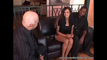 dark-hued wifey attempts milky jizz-pump