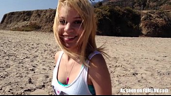 Petite Amateur Teen Girl Gives A Blowjob