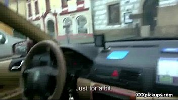 public pickup czech gal ravages for euros in.