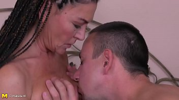 supah-hot braided hair mature gets nailed.