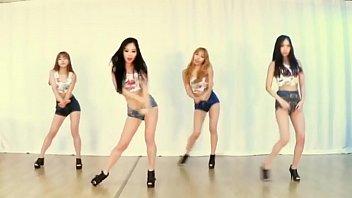 korean damsels dance on french rap.