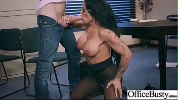 Sexy Big Boobs Girl (Simone Garza) Like Hardcore Sex In Office video-28